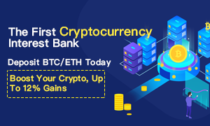 The First Cryptocurrency Interest Bank